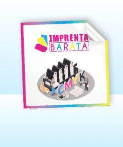 Imprimir Etiquetas Adhesivas Cuadradas en Barcelona